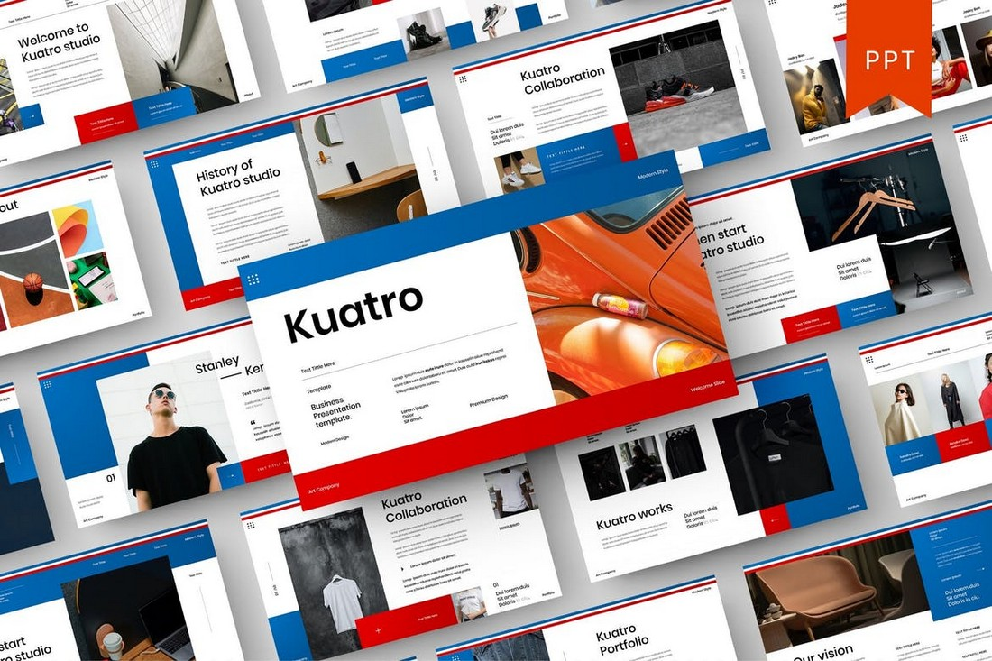 Kuatro – Professional PowerPoint Template