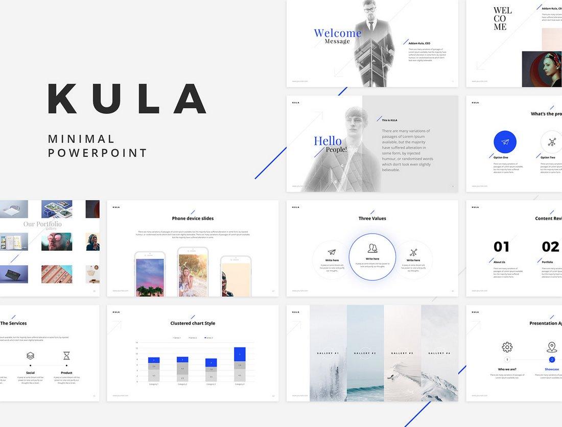 Kula - Clean Free Powerpoint Template