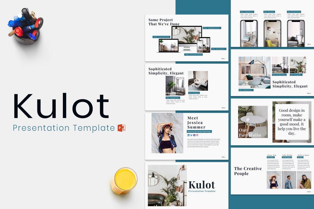 Kulot - Free Modern Business Plan PPT