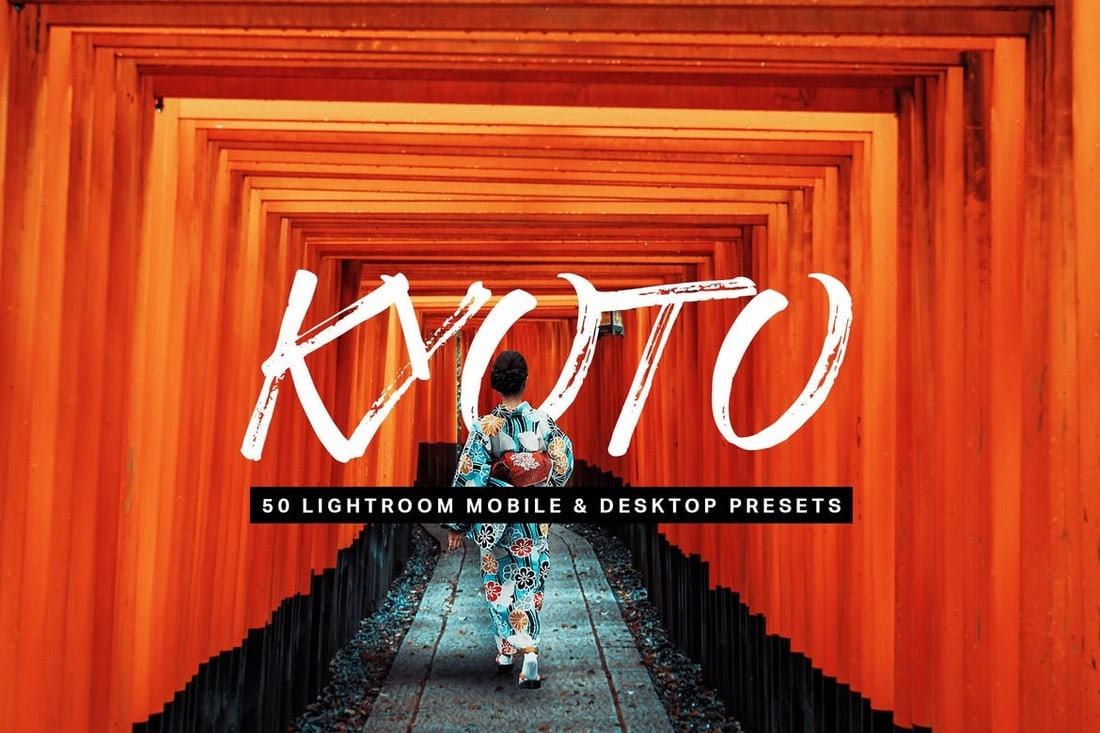 Kyoto: 50 preajustes de Lightroom
