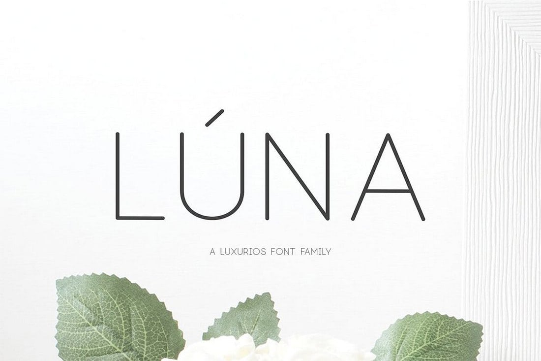 L%C3%BAna-A-Luxurios-Font-Family 30+ Best Fonts for Business Cards design tips