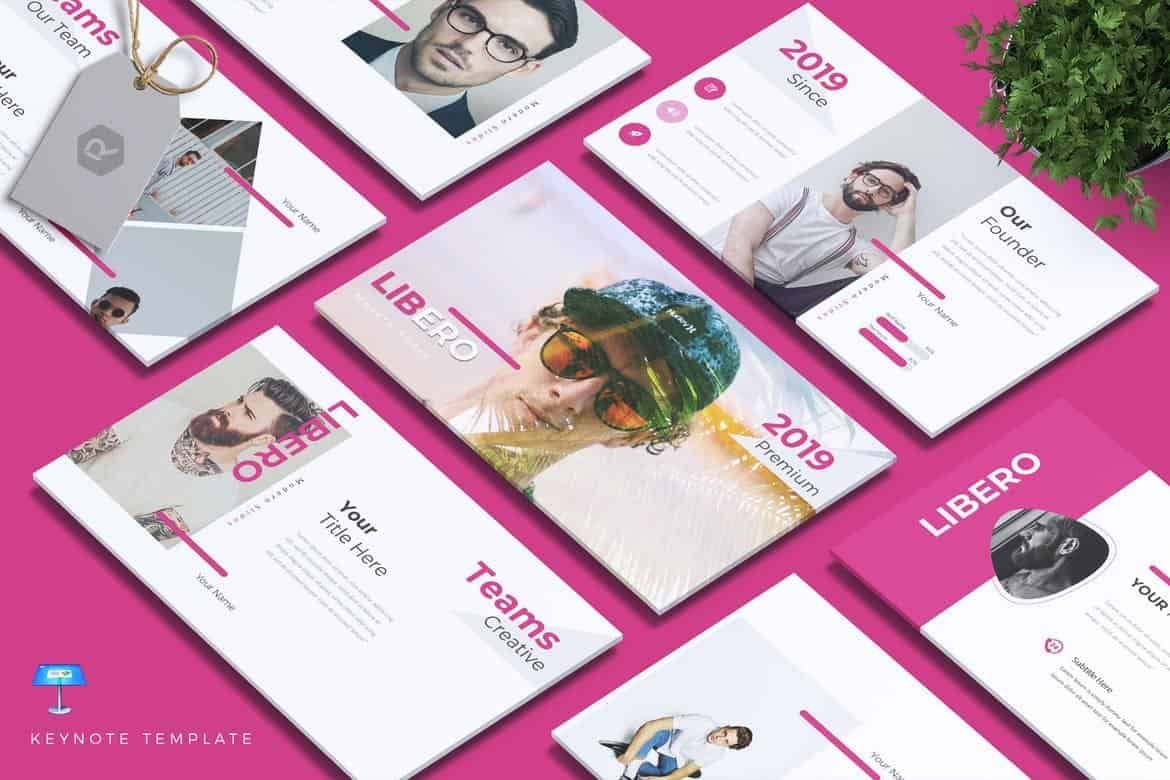 LIBERO-Colorful-Creative-Keynote-Template 50+ Best Keynote Templates of 2021 design tips