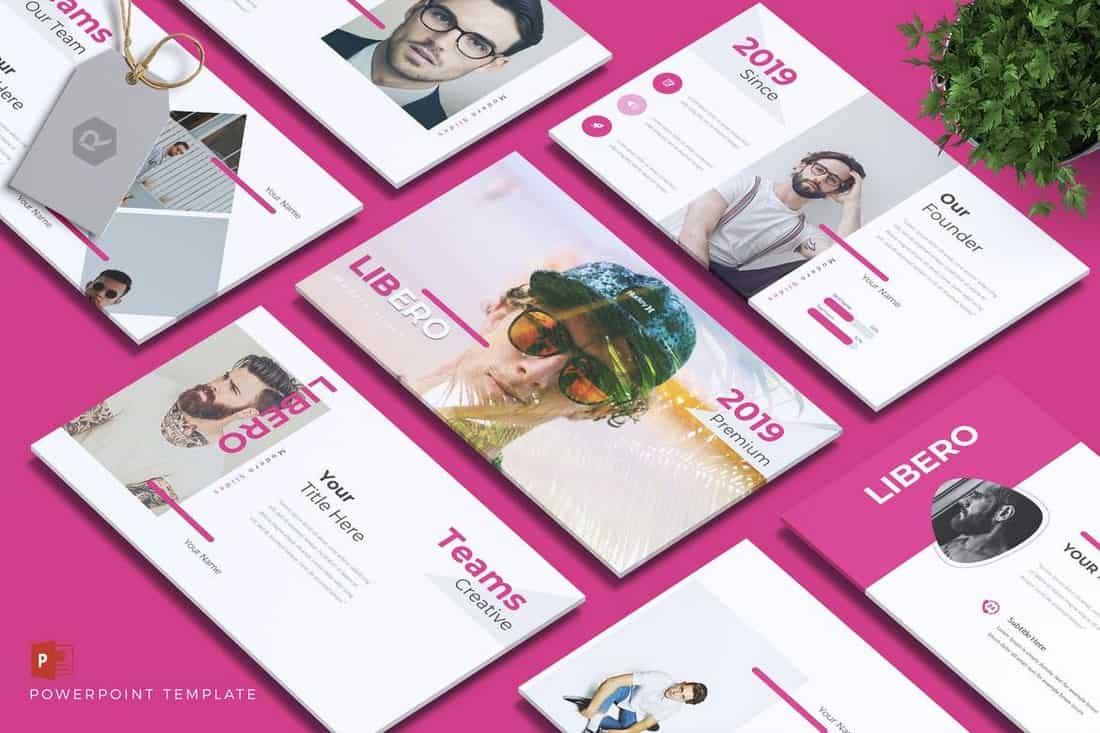 LIBERO - Company Profile Powerpoint Template