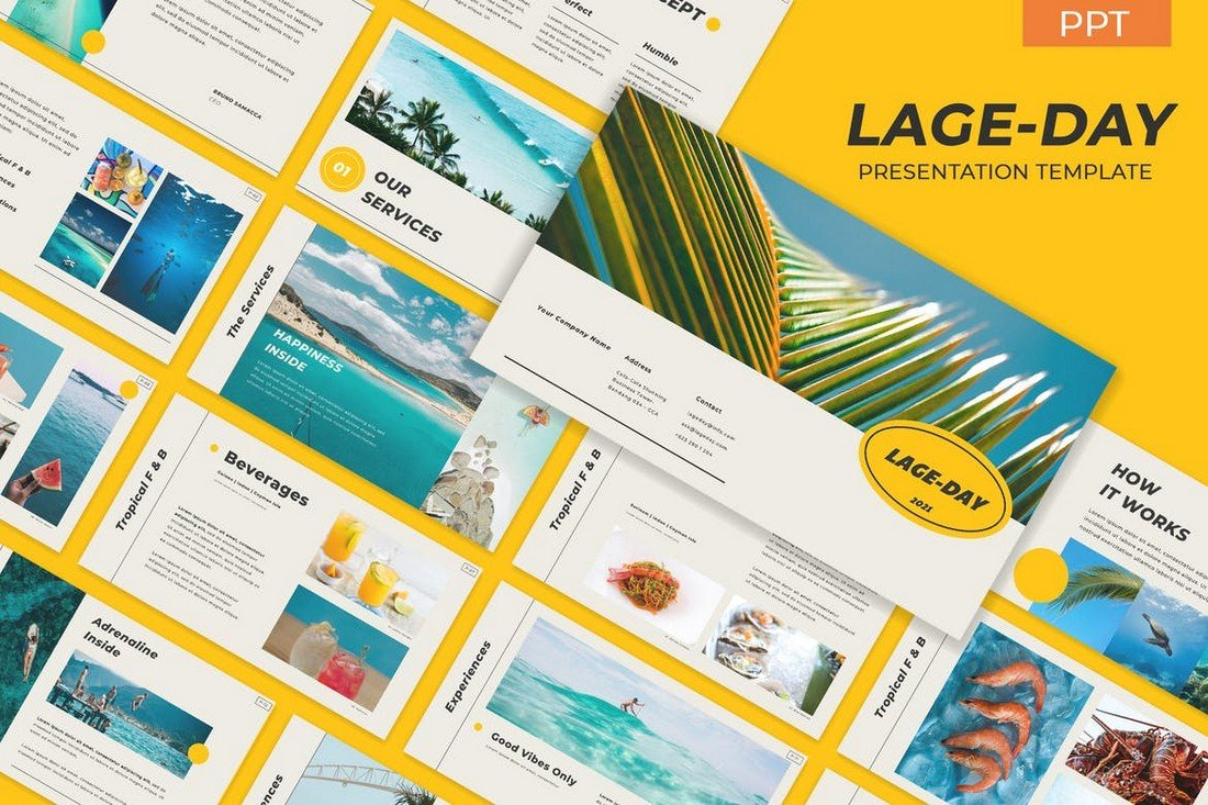 Lageday - Project Proposal PowerPoint Template