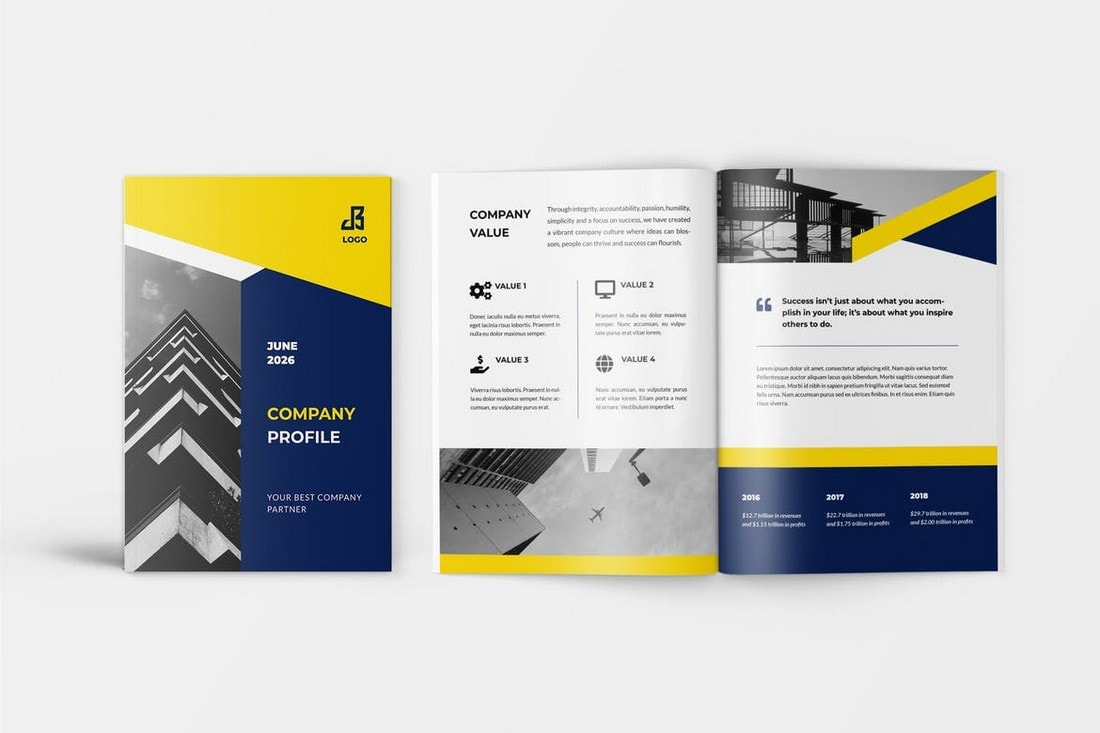 Laggi - Company Profile Word Brochure