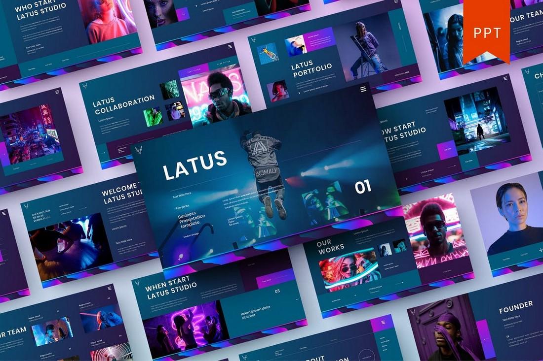 Latus – Premium Business PowerPoint Template