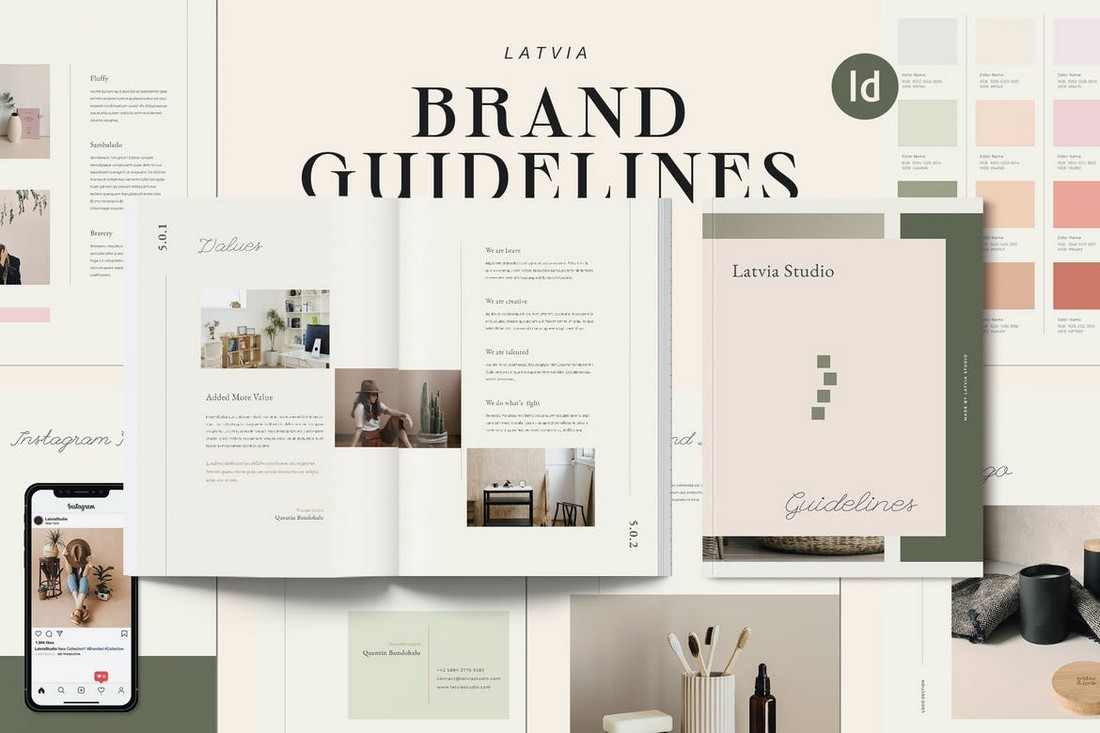 Latvia - Lifestyle Brand Guidelines Template