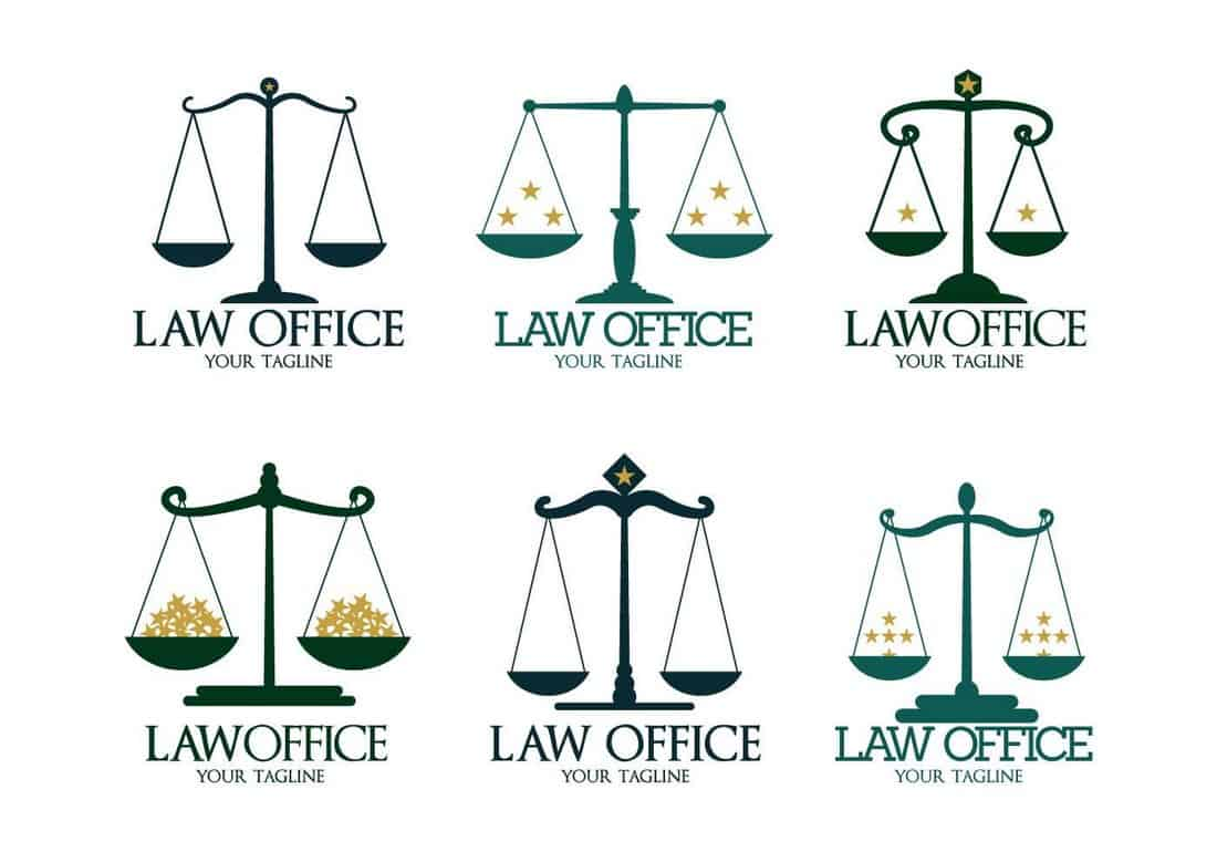 Law Firm Free Logo Templates
