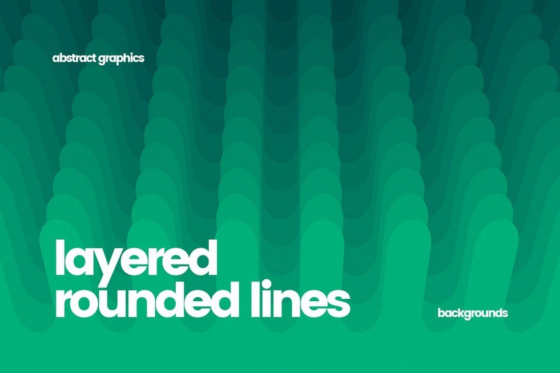 Layered-Rounded-Lines-Backgrounds 30+ Best Line Patterns & Textures design tips