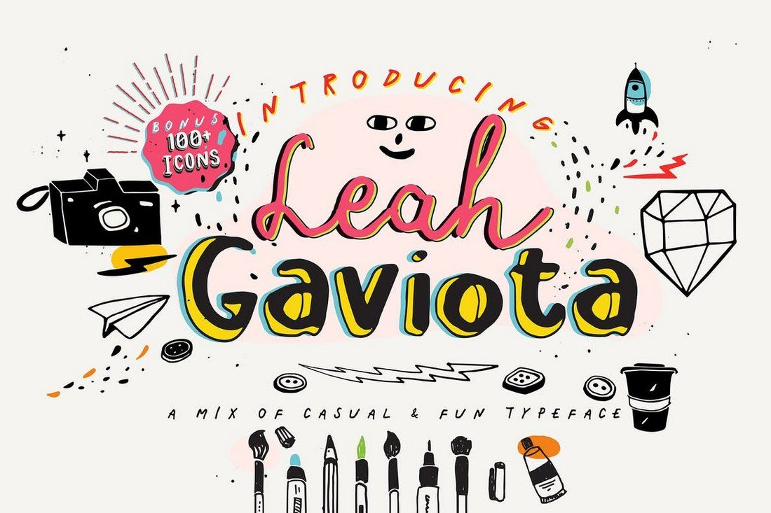 Leah-Gaviota 100+ Best Modern Serif Fonts design tips