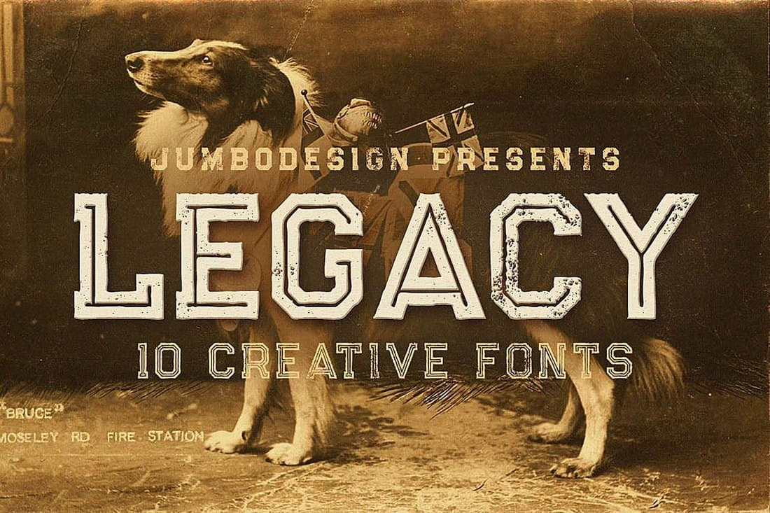 Legacy - Vintage Fonts Collection