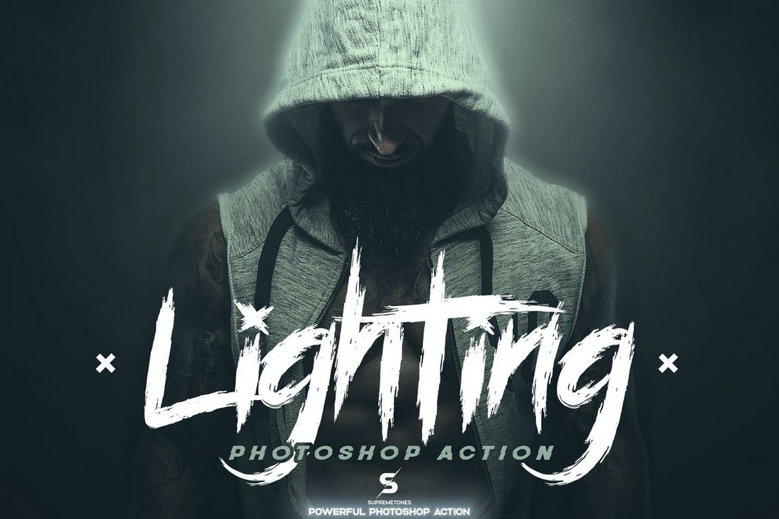 Legendary - Light Effects Photoshop Actions