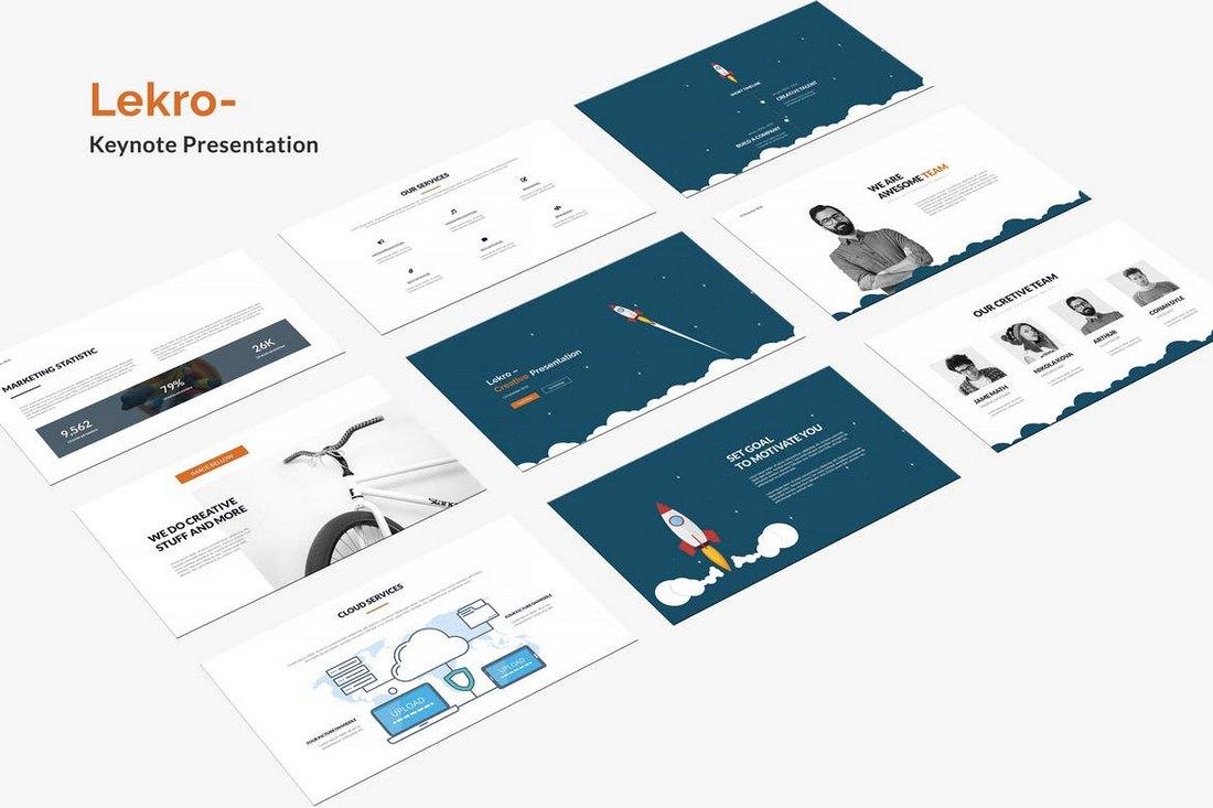 Lekro Keynote Presentation Template