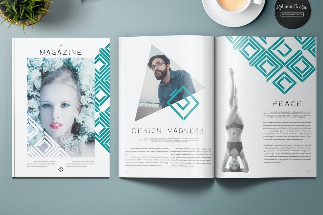 Lemo - Creative InDesign Magazine Template