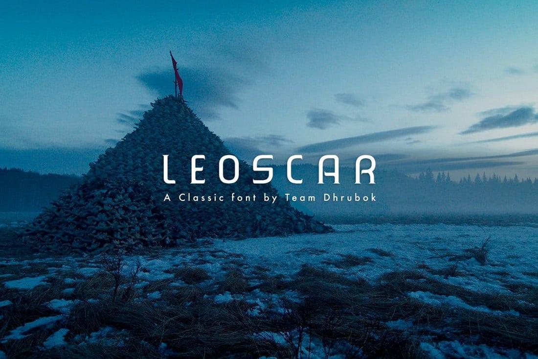 Leoscar-Font 30+ Best Fonts for Business Cards design tips