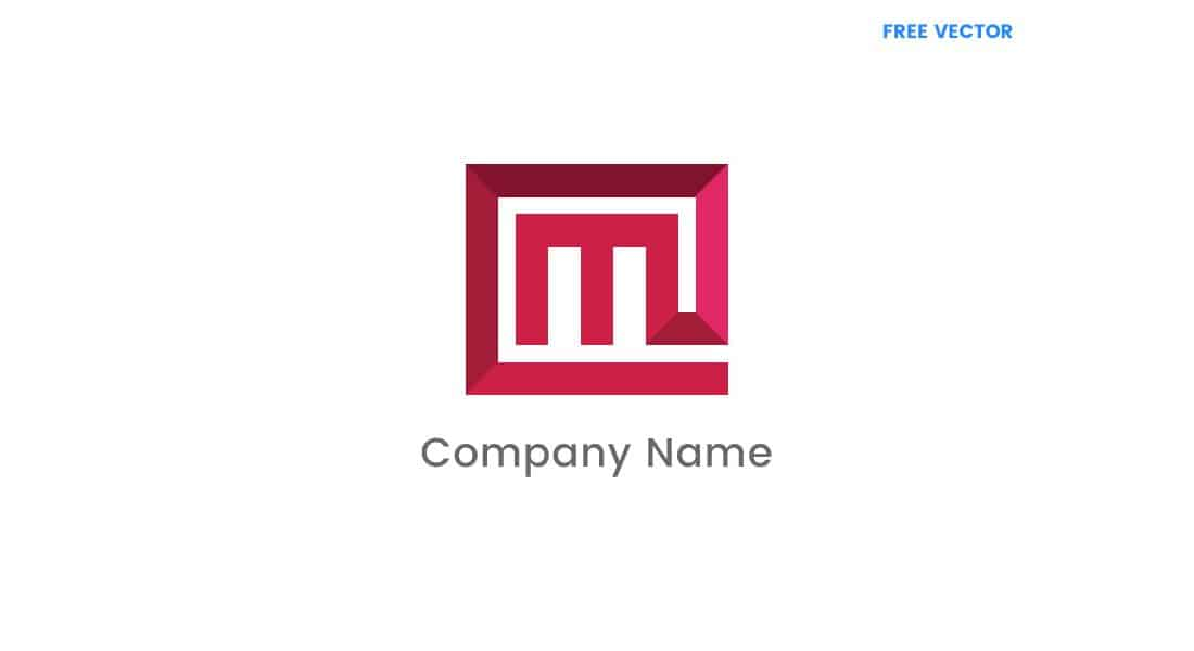 Letter M Free Company Logo Template