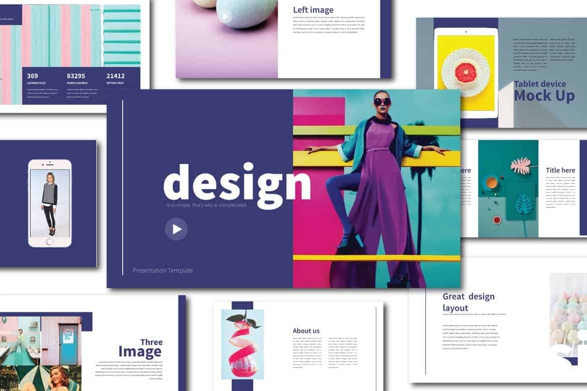 Lifestyle Design - Fun Powerpoint Template