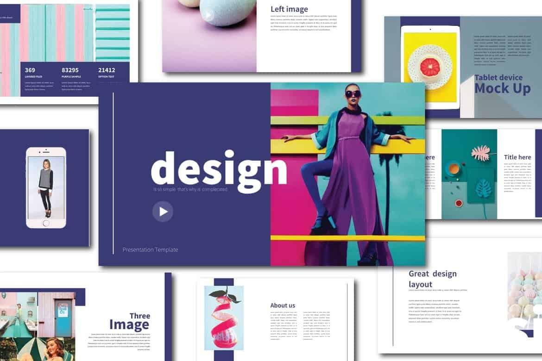 Lifestyle Design - Fun Powerpoint Template