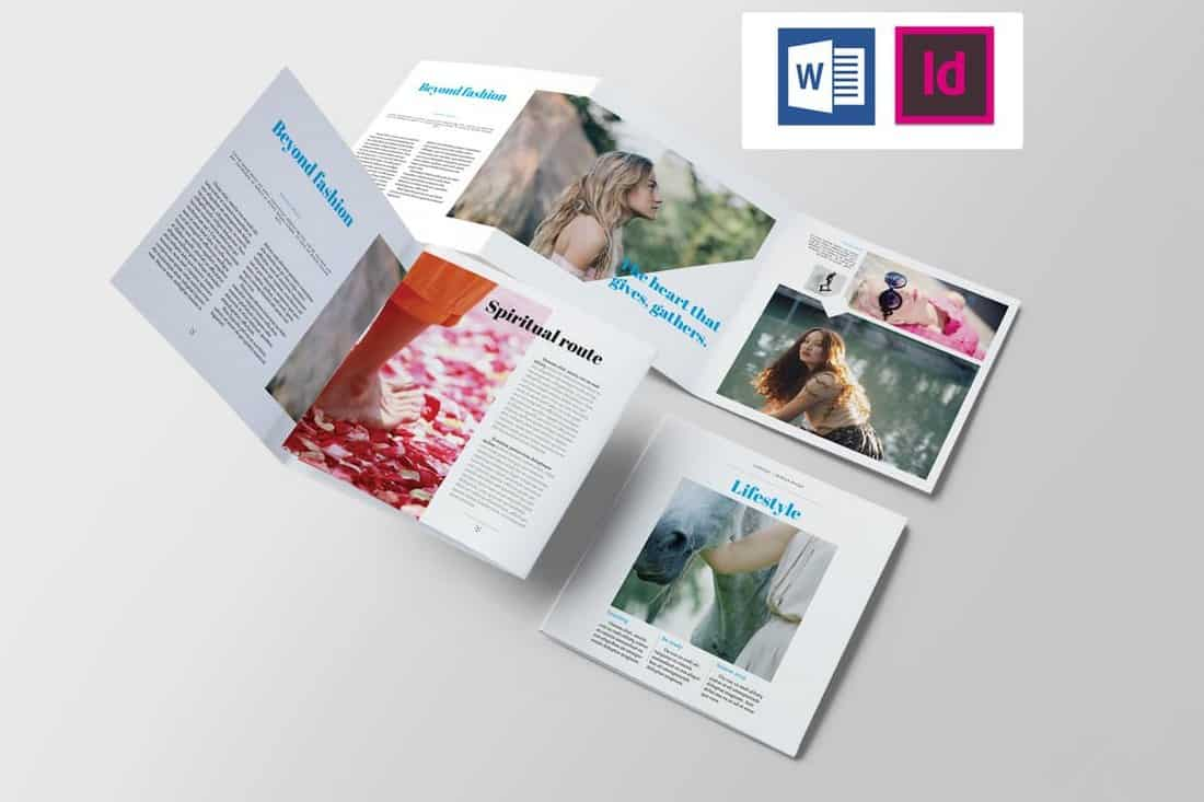 Lifestyle & Fashion Brochure Template