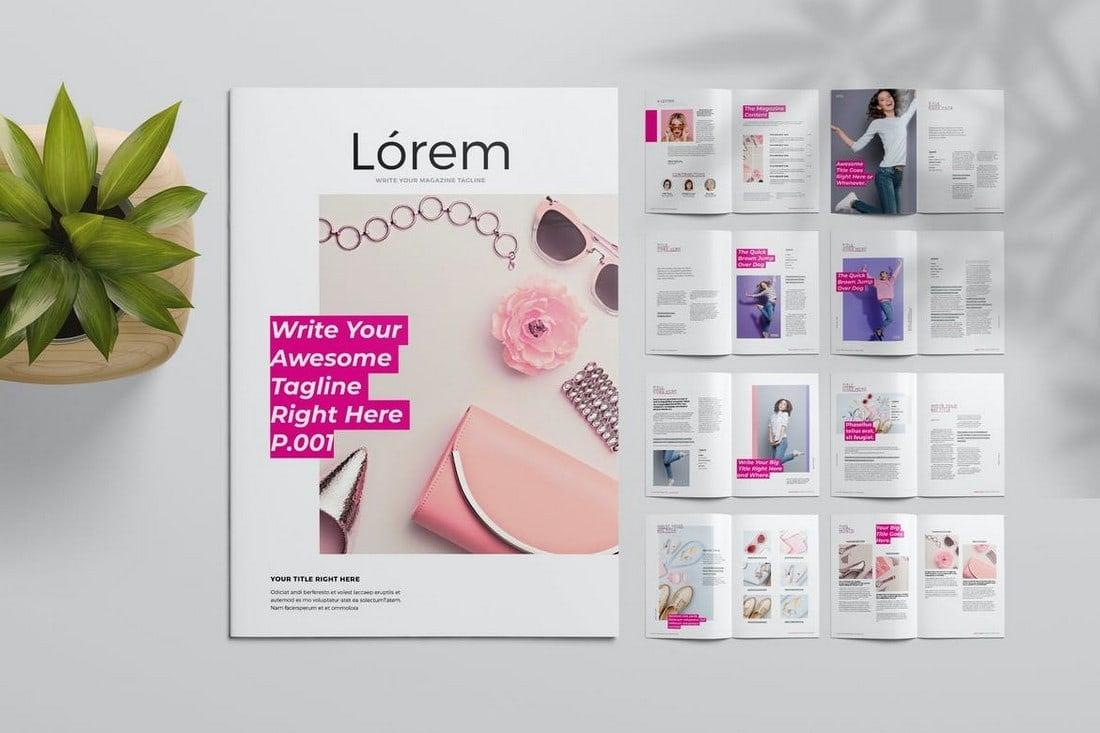 Lifestyle-Magazine-InDesign-Template 30+ Best InDesign Magazine Templates 2021 (Free & Premium) design tips