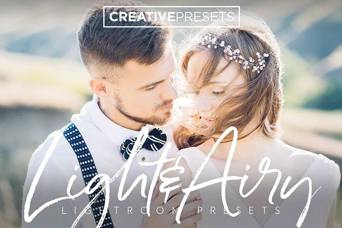 Light & Airy - Lightroom Wedding Presets