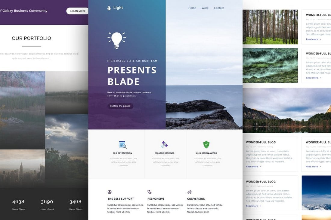 Light-Responsive-Email-and-Newsletter-Template 40+ Modern Responsive Email Templates 2021 design tips