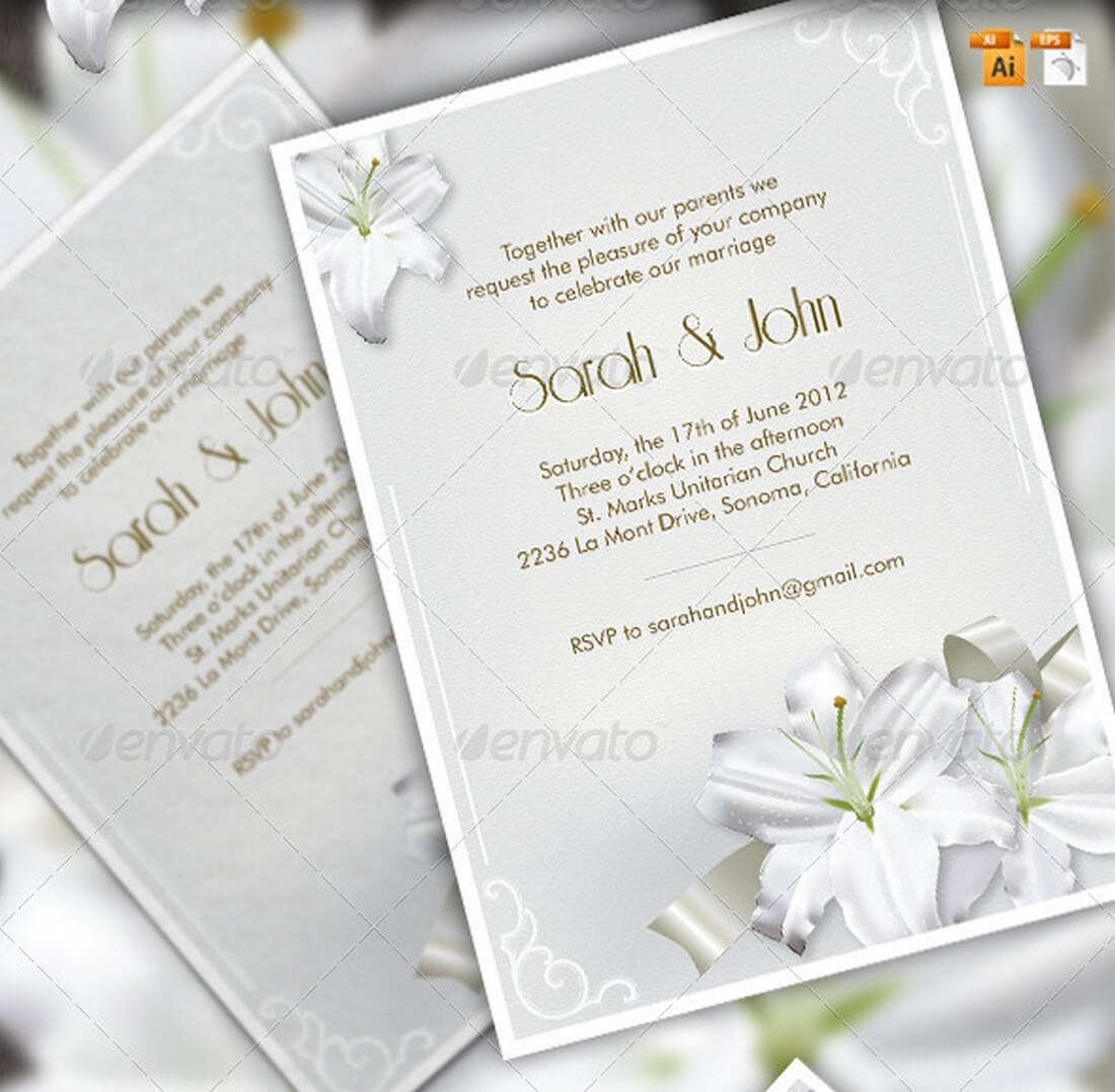 lilies-wedding-set