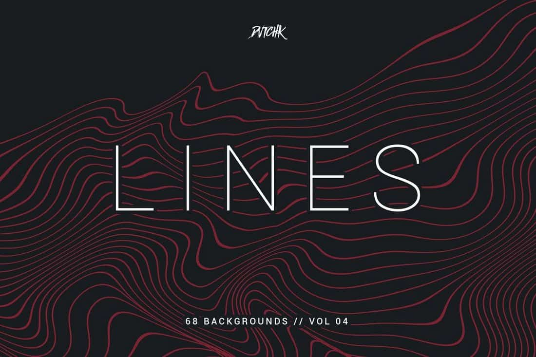 Lines - Abstract Wavy Backgrounds Patterns
