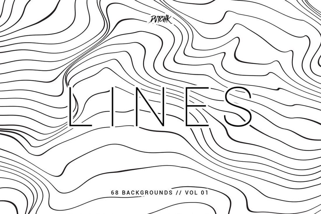 Lines-Abstract-Wavy-Backgrounds-Vol.01 20 White Texture Background Graphics design tips