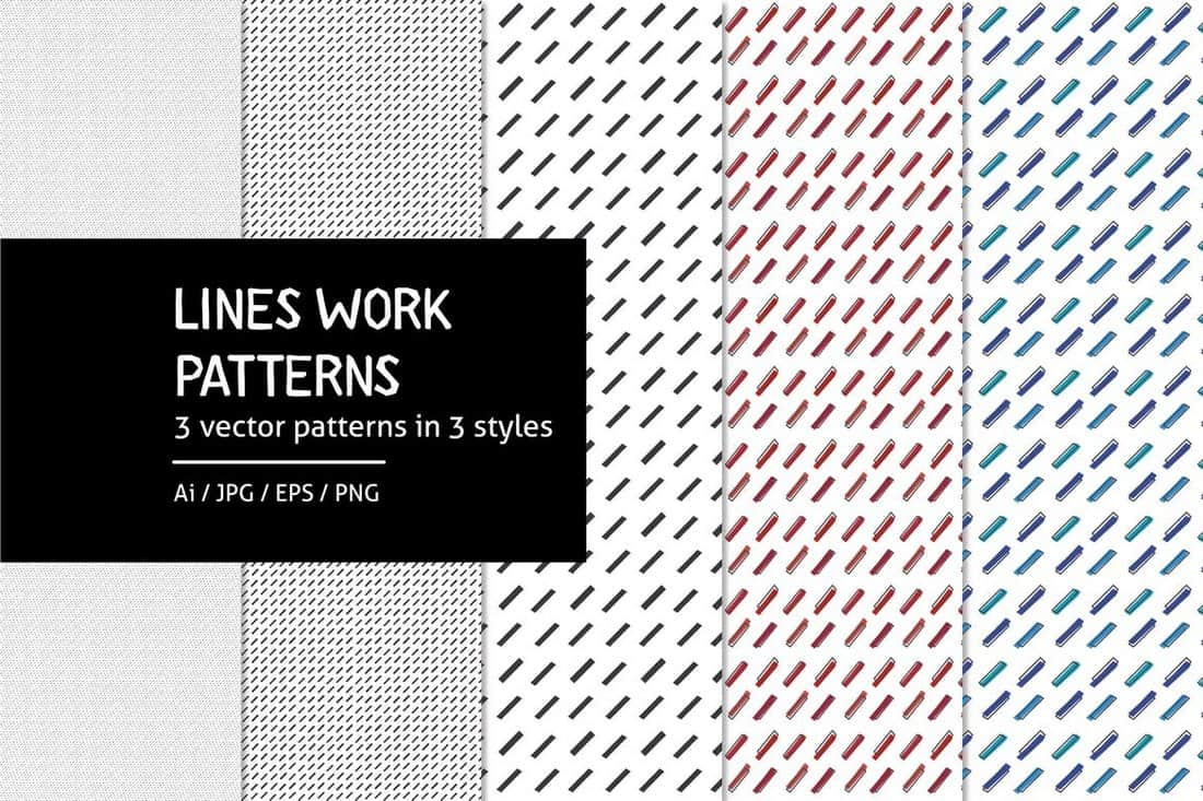 Lineswork - Lines Work Patterns