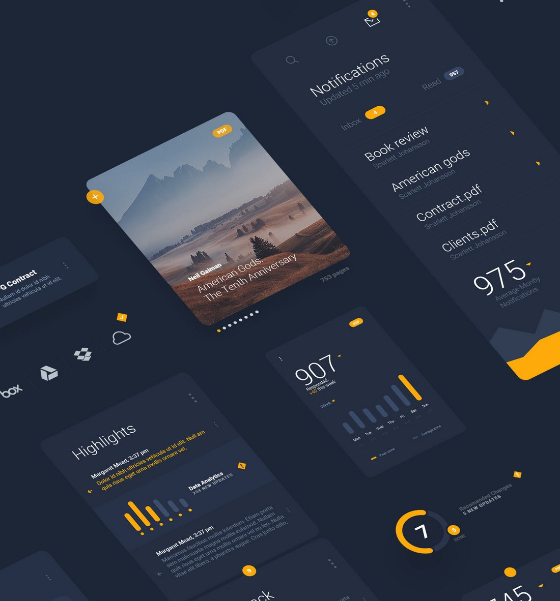 LiquidPro - Free Sketch UI Kit