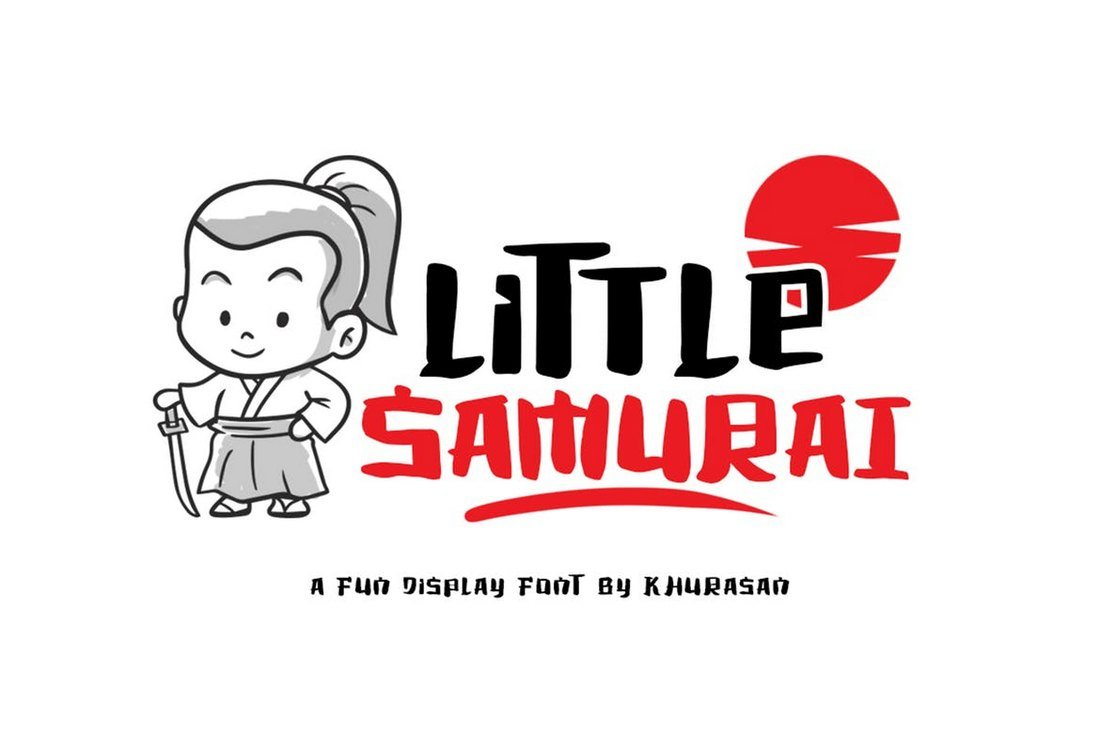 Little Samurai - Fun & Creative Font