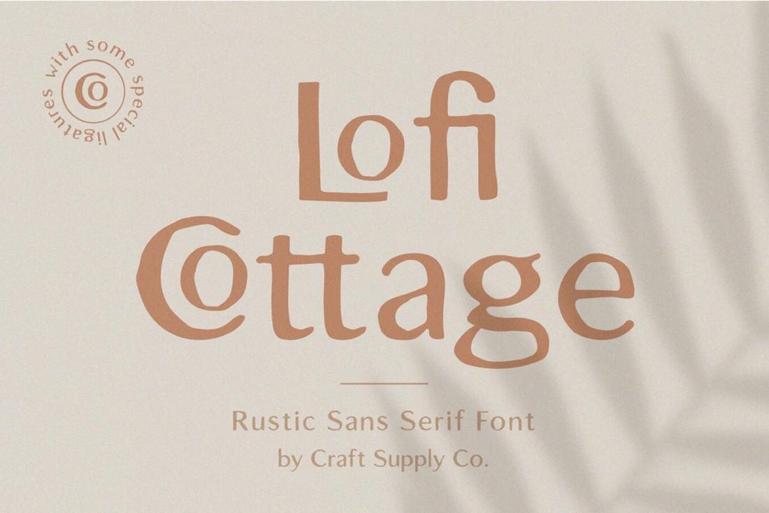 Lofi Cottage - Free Rustic Font