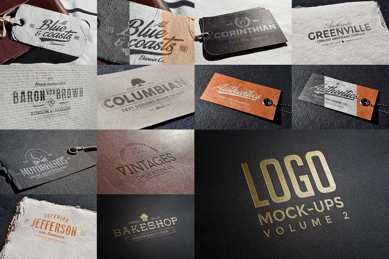 Logo & Label Mock-ups