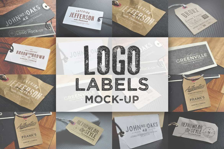 Logo & Labels Mock-ups 2