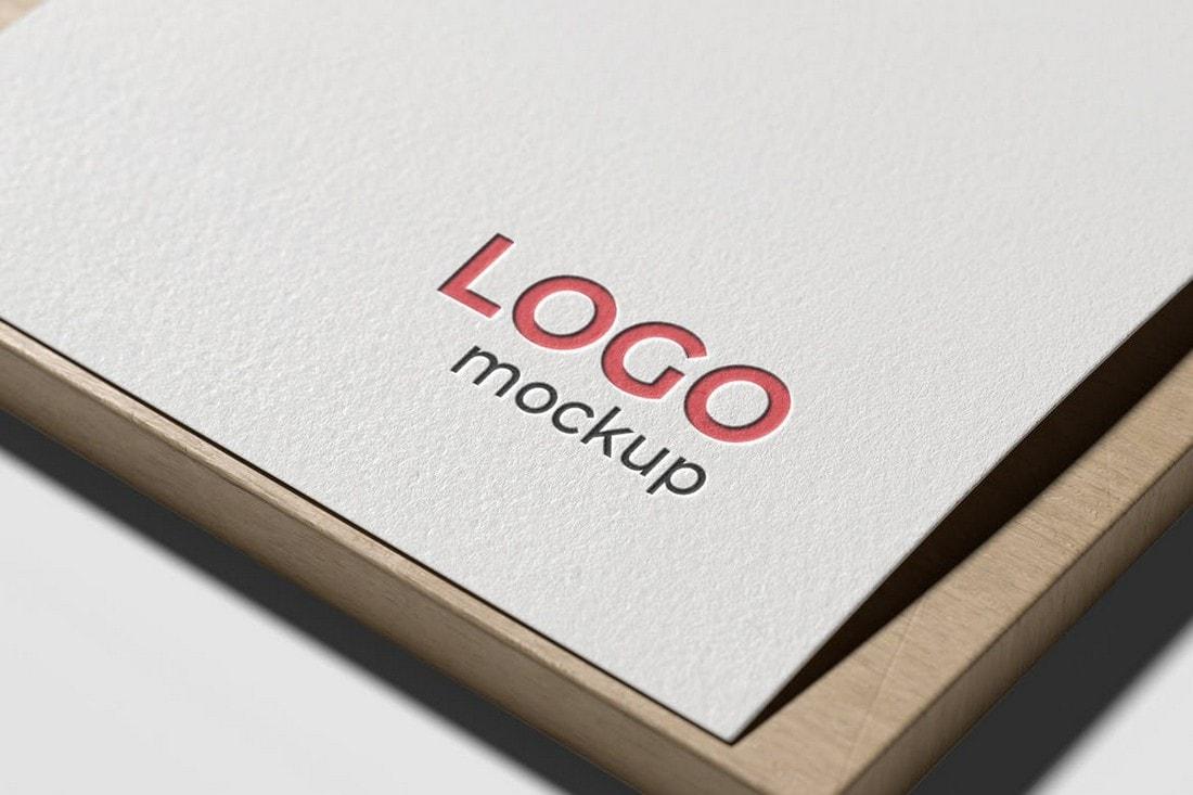 Logo-Mockup-on-White-Paper 100+ Logo Mockup Templates (PSD & Vector) design tips