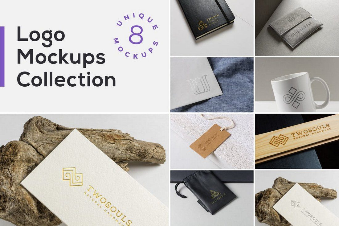 Logo-Mockups-Collection 20+ Best 3D Logo Mockup Templates design tips