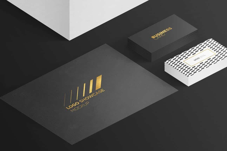 Logo-Showcase-Mockup 100+ Logo Mockup Templates (PSD & Vector) design tips