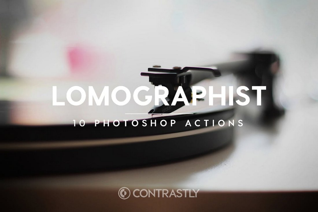 Lomographist - Retro Vintage Photoshop Actions