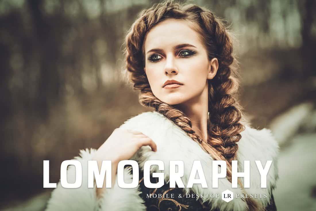 Lomography Lightroom Presets