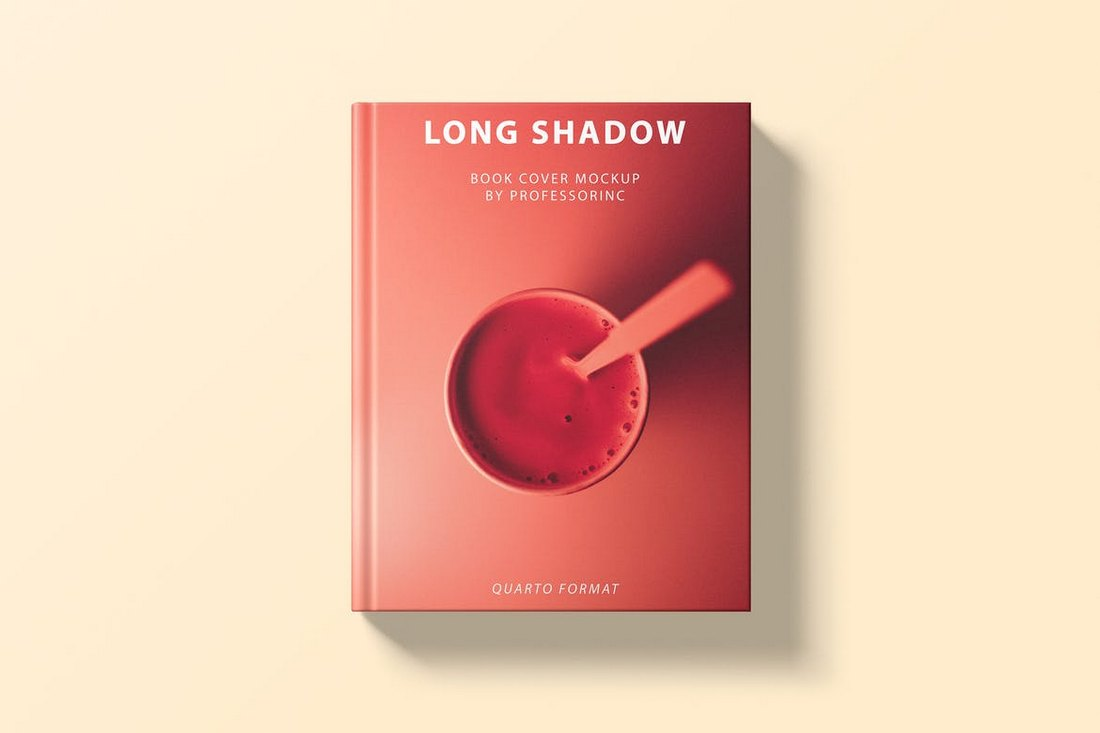 Long-Shadow-Book-Cover-Mockup 20+ Best Book Cover Mockup Templates design tips