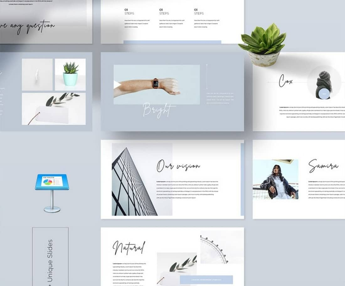Look-Book-Free-Stylish-Keynote-Template 50+ Best Keynote Templates of 2021 design tips