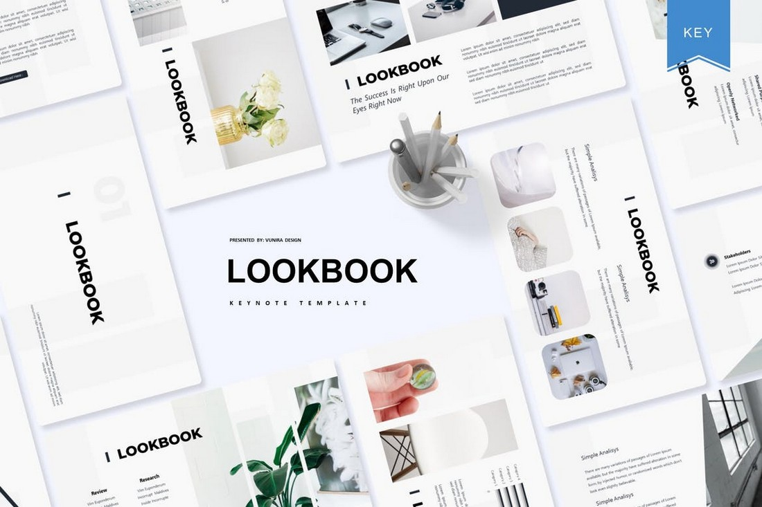 Lookbook-Minimal-Keynote-Template 50+ Best Keynote Templates of 2020 design tips  Inspiration|keynote|powerpoint|presentation