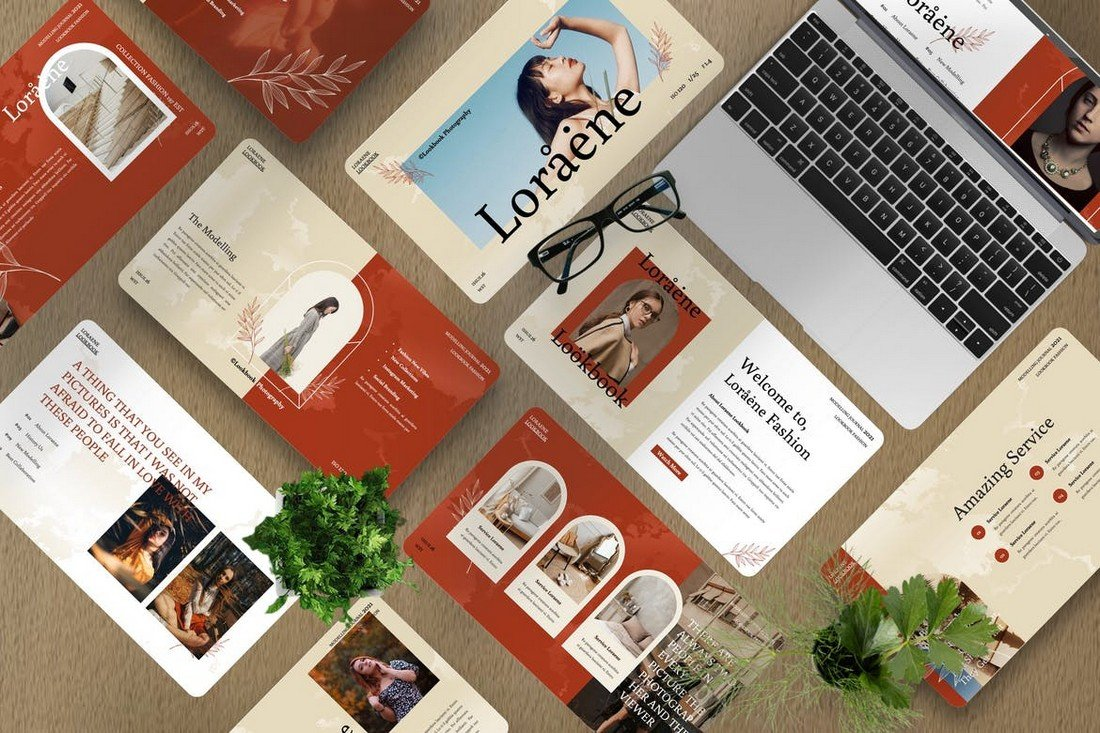 Loraene - Fashion Google Slides Template