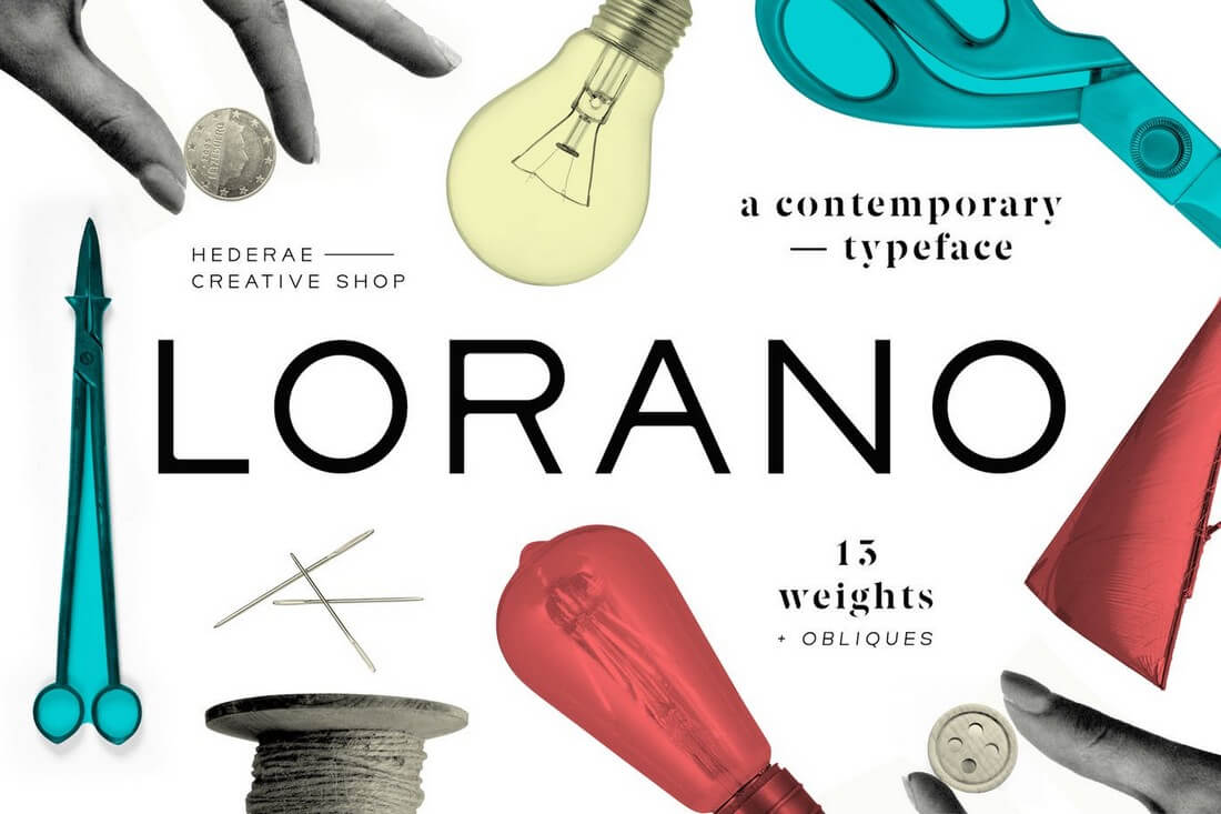 Lorano 60+ Best Big, Poster Fonts of 2021 design tips
