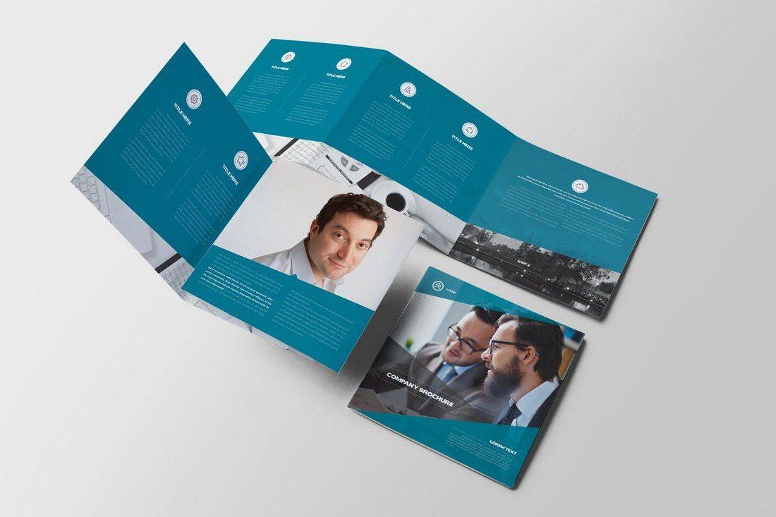 Lorem-Square-Trifold-Brochure 20+ Best Tri-Fold Brochure Templates (Word & InDesign) design tips