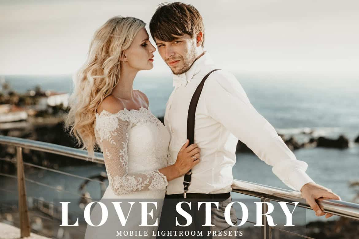 Love Story - Mobile & Desktop Lightroom Presets
