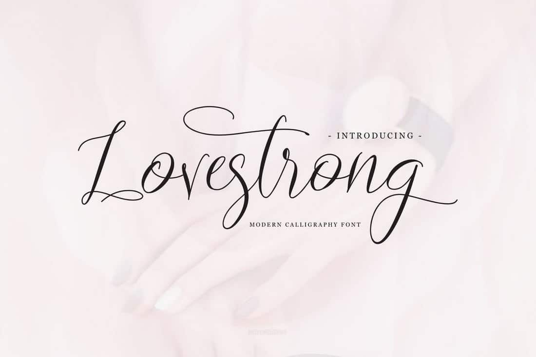 Lovestrong - Elegant Script Font
