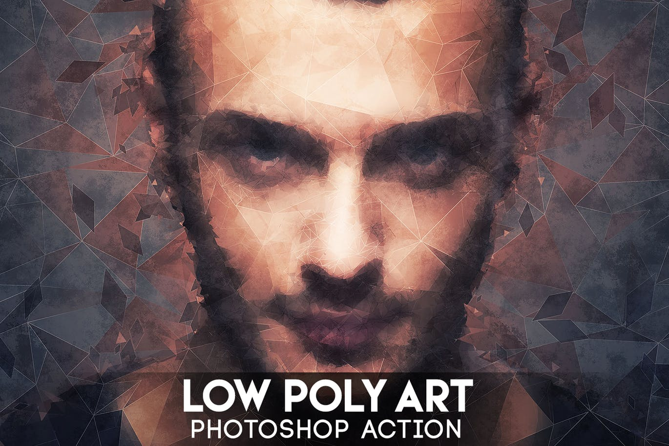 Low-Poly-Art-Photoshop-Action 40+ Best Photoshop Actions of 2018 design tips