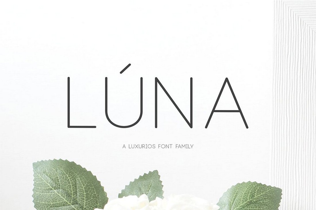 Lúna - Luxury Clean Font